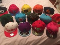 Selection of caps