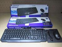 Brand New Keyboard, Mouse & Mouse Mat