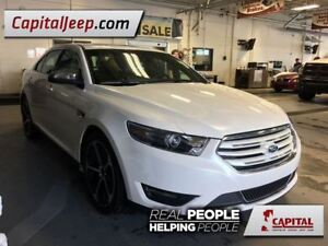 2015 Ford Taurus Limited  AWD  Leather  Sunroof  Low KM
