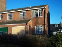 3 bedroom modern house , close proximity to city centre, Mapperely- £625pcm