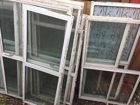 Alloy windows all sizes £10 each ideal for garages sheds outhouses wendyhouse
