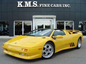 1996 Lamborghini Diablo VT| ROADSTER| SINGLE OWNER | CANADIAN