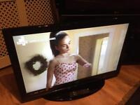 "Logik 40"" lcd TV free view HDMI USB"