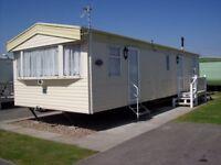 static caravan to hire rent let 3 bed 8 berth the wolds caravan park ingoldmells