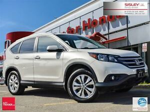 2014 Honda CR-V Touring - Navi, Leather, 1 Owner, Accident Free