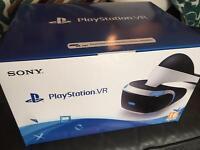 New PlayStation 4 VR headset & camera BNIB