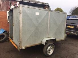 Box trailer galvanised sides and roof