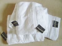 Luxury Egyptian cotten bath sheets x4 brand new