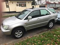 Lexus RX 300 AUTO. IMMACULATE. LEATHER. MOT. TAX. LOW 69000 Miles