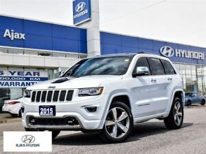 2015 Jeep Grand Cherokee Overland|Diesel|Navi|Sunroof|Adapt Crui