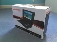 Goodmans portable DVD player brand new