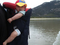 Macpac Koala Child Carrier with Accessories