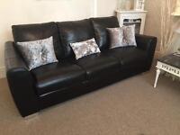 Italian Leather 3 & 2 Seater Sofa