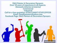 Painters & Decorators/Sprayers (Leeds)