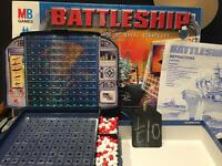 Mb games battleship board game toy Christmas present complete