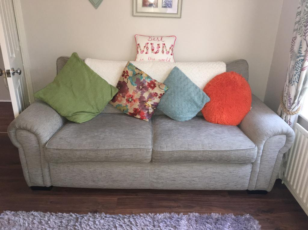 3 seater and 2 seater sofa bed