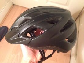 Specialized cycling helmet (medium adult size, black, good condition)