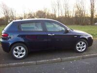 alfa romeo 147 selespeed 2009 plate 5 door petrol