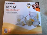 Medela Swing Essentials Pack Breast Pump - Barely used