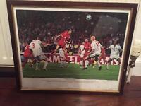 Signed Liverpool prints