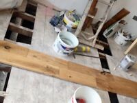 Solid Oak floor - 37sqm - mistake purchase