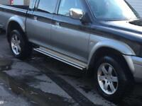 L200 Shogun pajero wheels and tyres