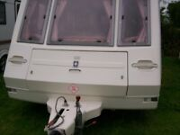 compass ralley 4 berth 2002 end dressing room only 1000kg ex condition
