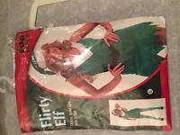 Flirty elf costume, large