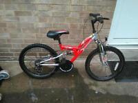 Childs suspension bike
