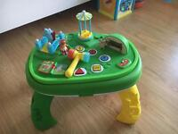 In the night garden table