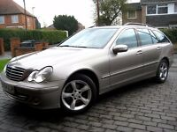 Mercedes-Benz C Class 2.1 C220 CDI Avantgarde, Full Service History, Leather, Parktronic.
