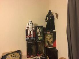 6 Star Wars figures
