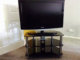 """Samsung 37"""" HD TV with Built in Freeview, with stand"""
