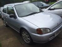 NEED GONE Toyota Starlet 1.3 SR rAre 12months MOT not Glanza type R gti turbo