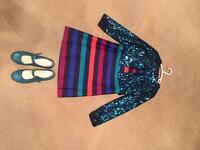 Party dress aged8-9