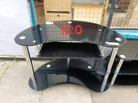 black glass computer desk free delivery in leicester