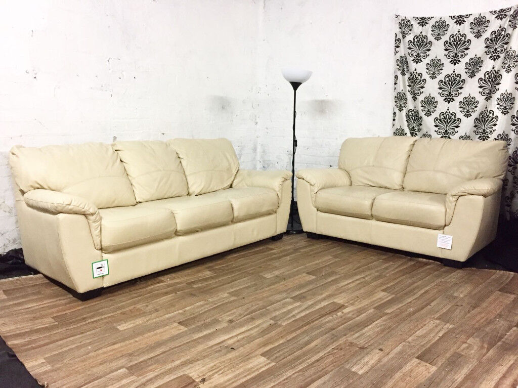 New Furniture Village 3 2 Seater Sofas Free Delivery