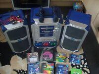 kareoke machine with 8 discs