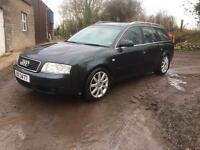 Audi A6 Estate full leather