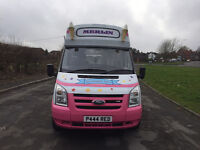 Ice Cream Van Ford Transit