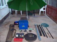 Fishing tackle set up