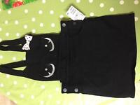 H&M dungaree dress 7/8 brand new with tags