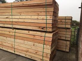 🌲Wooden 225mm x 38mm X 3.6m/4.2m Scaffold Style Boards/Planks -New-🌲