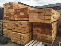 🌲Wooden/ Timber Scaffold Style Boards/ Planks ~New~ 12Ft/14Ft