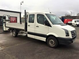 08 Volkswagen Crafter CR35 LWB Double Cab Pick Up