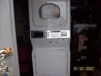 maytag commerical washer+dryer