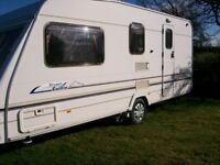 sterling cuillin cruach 2002 4 berth full end shower/dressing room new tyres exc condition