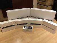 MacBook Pro, Mini iPad and iPhone 5S empty boxes