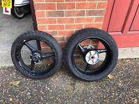 Cbr900rr front & rear wheels