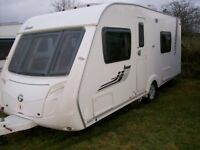 swift iona 2009 4 berth fixed bed motor mover awning excellent condition